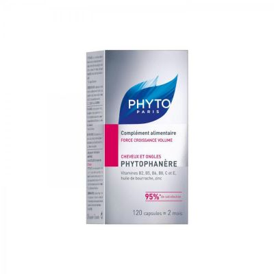 Phyto phytophanère cheveux/ongles Capsules 120 pièces