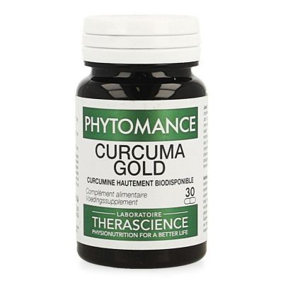 Phytomance Curcuma Gold NF Capsules 30 pièces