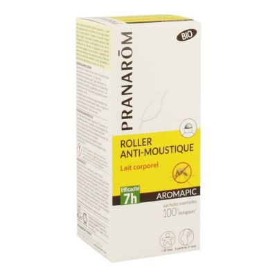 Pranarôm Aromapic leche corporal antimosquitos Roll-on 75ml