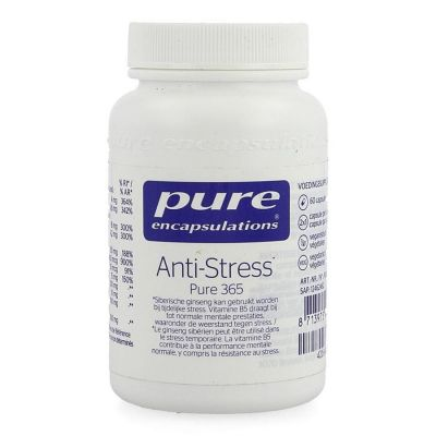 Pure Encapsulations Anti-stress Pure365 Capsules 60 pièces