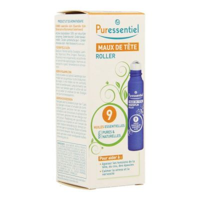 Puressentiel maux de tête roller Roll-on 5ml
