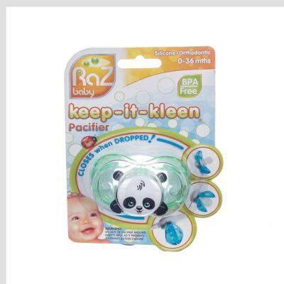 Raz baby fopspeen Panky Panda 0-36m 1 stuks