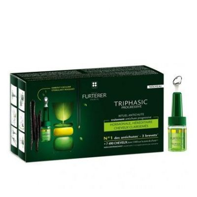 René Furterer Triphasic Progressieve Haaruitval Flacon 8x5,5ml