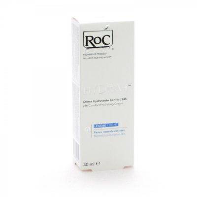 Roc Hydra+ crema ligera en tubo Crema 40ml