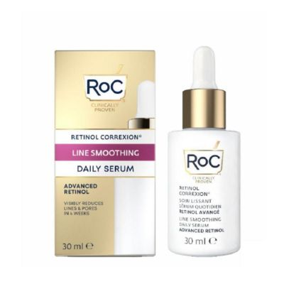 Roc Retinol correxion Line smoothing Daily Sérum 30ml