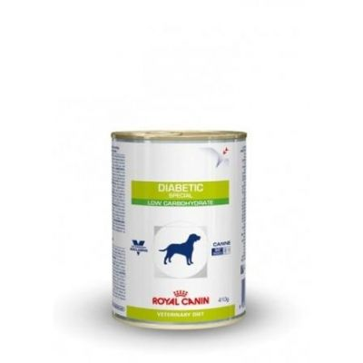 Royal Canin Diabetic special canine Blikvoeding 12x410g