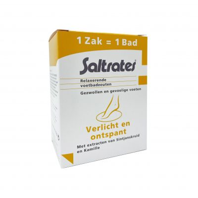 Saltrates Relaxerend voetbadzout Zakjes 10x20g