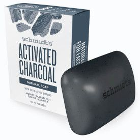 Schmidt's Zeep Activated charcoal Wastablet 142g