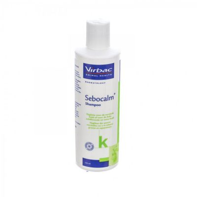 Sebocalm K shampooing chats & chiens Shampooing 250ml