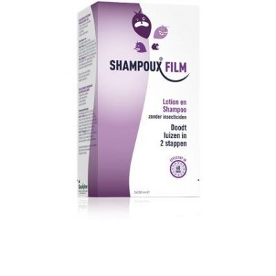 Shampoux Film lotion en shampoo Lotion 2x150ml