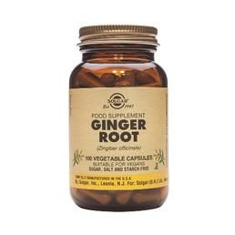 Solgar Ginger root Capsules 100 pièces