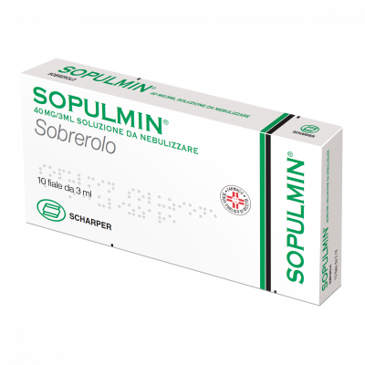 Sopulmin 40mg/3mL Fiale 10x3ml