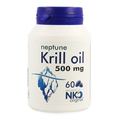 Soria Neptune Krill Oil 500mg Softgel 60 stuks