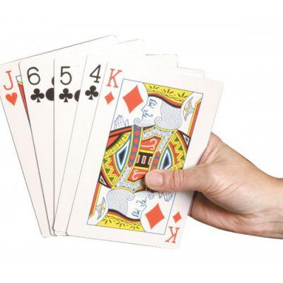 Speelkaarten Extra Groot 1 set