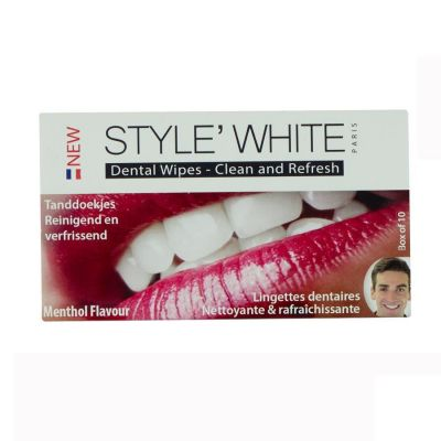 Style White Lingettes dentaires 10 pièces