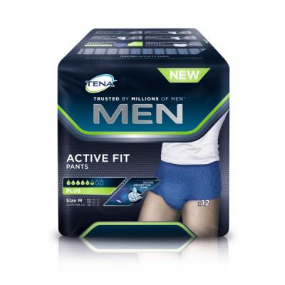 Tena Active fit Men Pants Plus M 12 stuks
