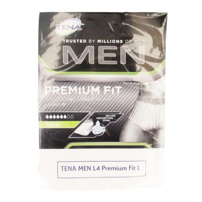 Tena Men Premium fit Protective underwear Level 4 L 10 stuks