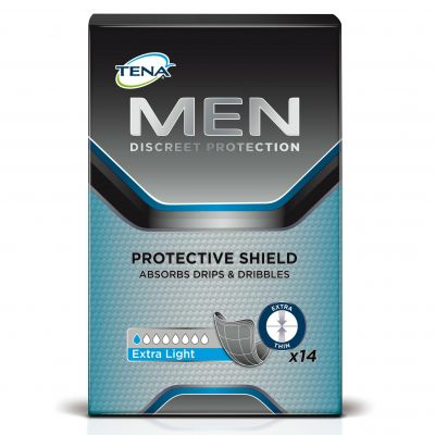 Tena Men protective shield 14 pièces