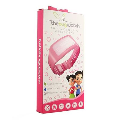 The Bug Watch Sunset pink Armband 1 stuks