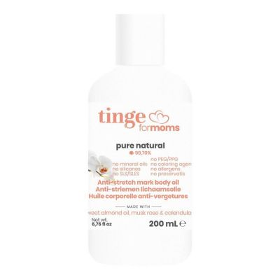 Tinge Mama Anti-striemen Olie 200ml