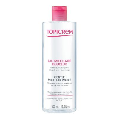 Topicrem eau micellaire douceur Solution micellaire 400ml