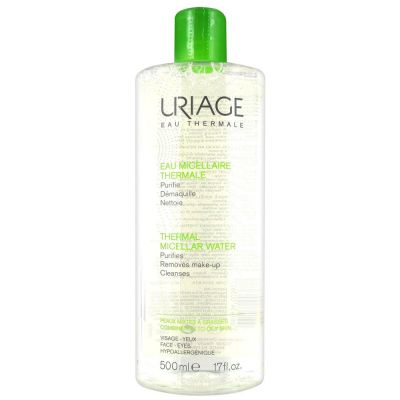 Uriage Eau micellaire thermale peau mixte à grasse Solution micellaire 500ml
