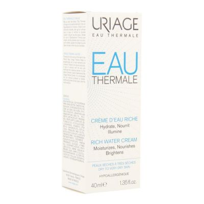 Uriage Eau thermal Watercrème riche Crème 40ml
