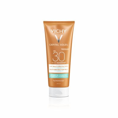 Vichy Capital Soleil Lait multi-protection SPF30+ Melk 200ml