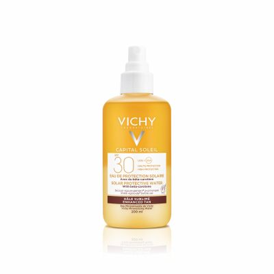 Vichy Idéal Soleil Agua protectora tez sublimada SPF30 Espray 200ml