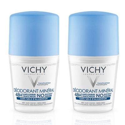Vichy Mineral Deo 48 Stunden Roll-On Duopack Roll-on 50ml
