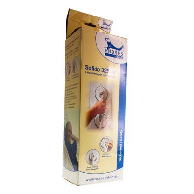 Wandbeugel verstelbaar met zuignappen Solido 10cm (totale lengte=32,5cm) 32cm