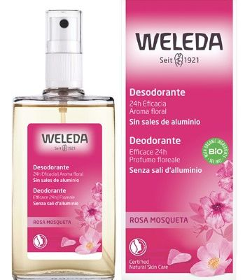 Weleda Deodorante Rosa Mosqueta Spray 100ml