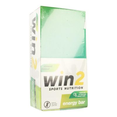 Win2 Energy bar amande Barre 35x40g