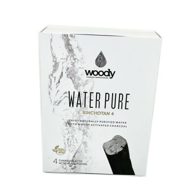 Woody water Pure Binchotan 4 Stick 450g
