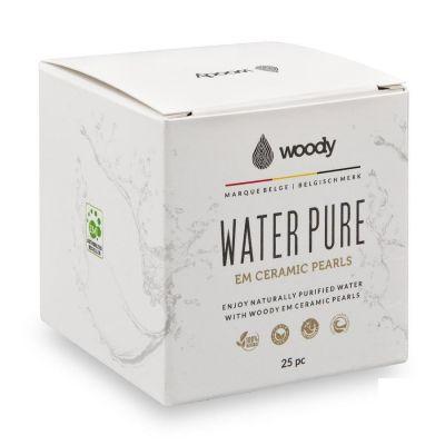 Woody water Pure Ceramic pearls Parels 25 stuks