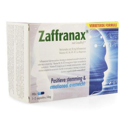 Zaffranax NF Capsules 90 pièces