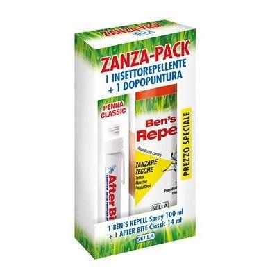 Zanza Pack Promo Estate After Bite 14ml + Ben's Repell 100ml