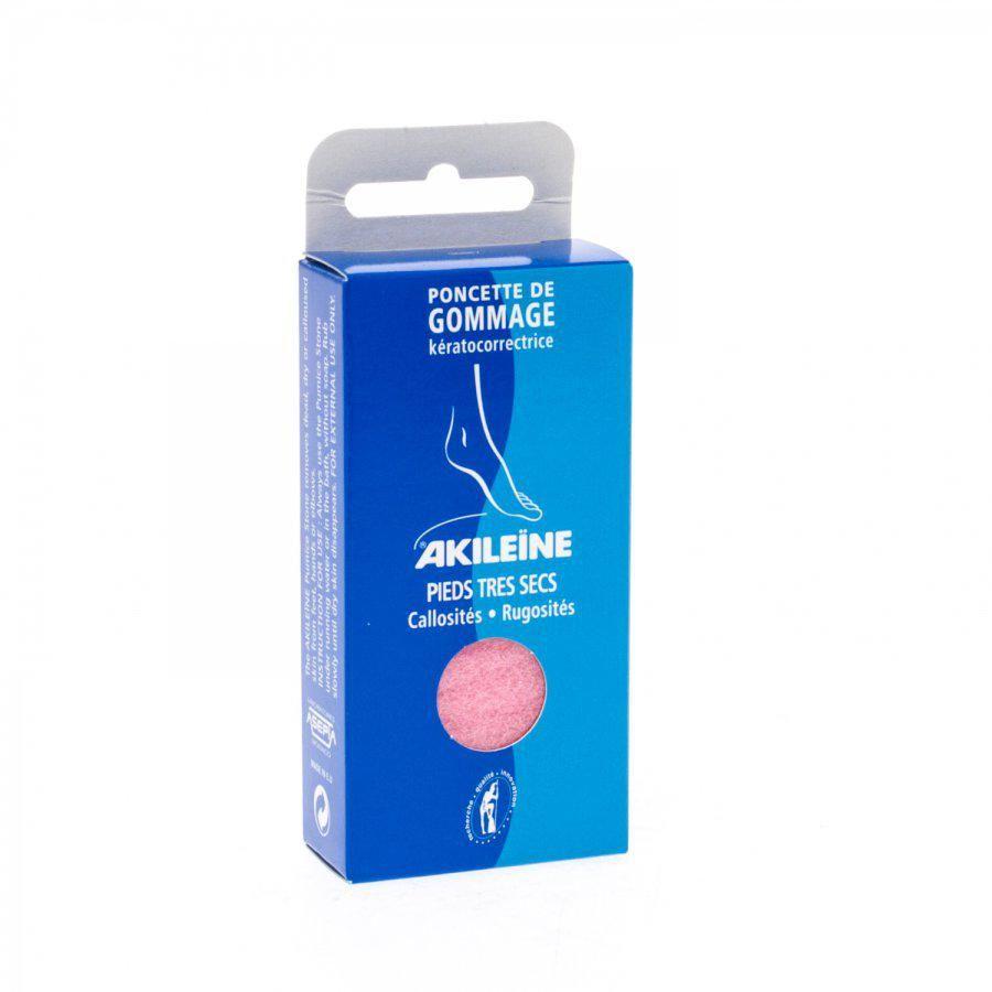 Acheter akileine bleu poncette de gommage 1 pi ces - Gommage corps avant ou apres la douche ...