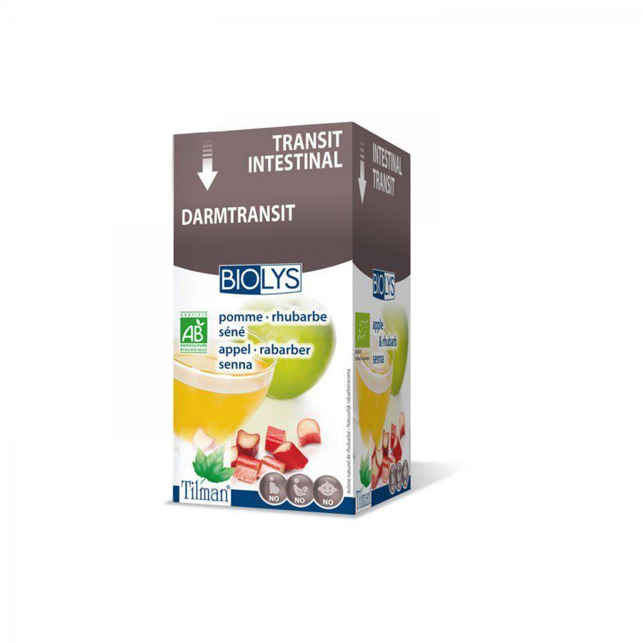 Acheter Biolys tisane transit intestinal Infusettes 20