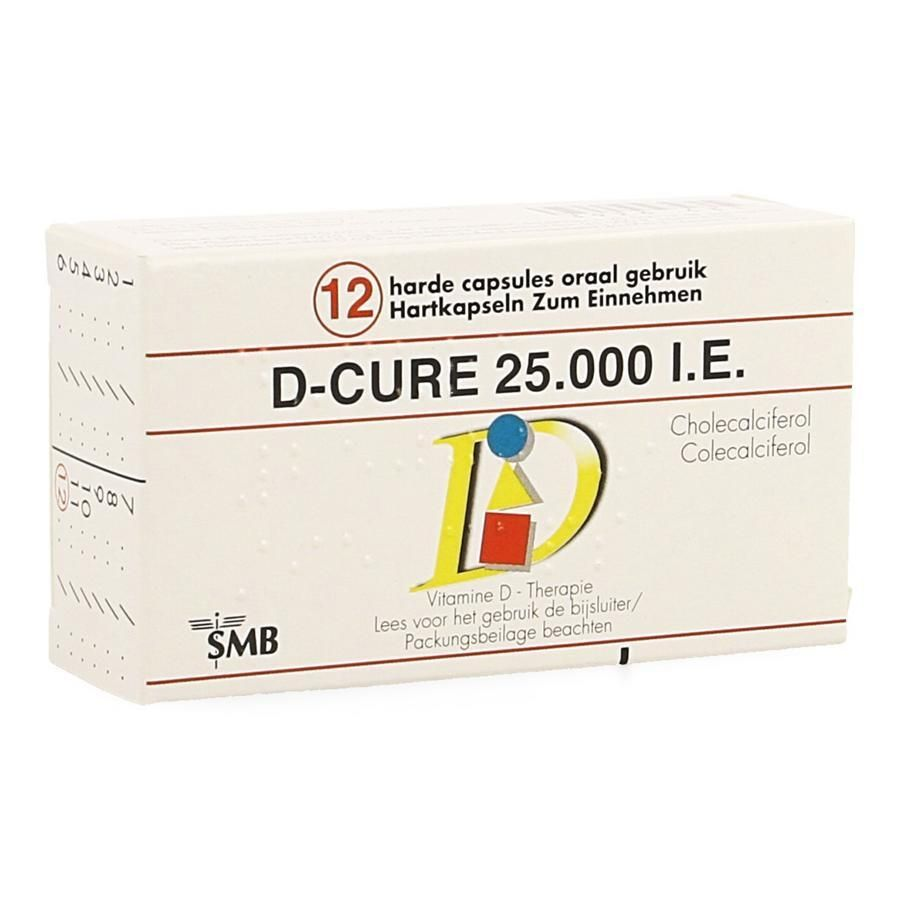 Buy D Cure 25000ie Capsules 12pieces Now For Only 12 96 At Viata