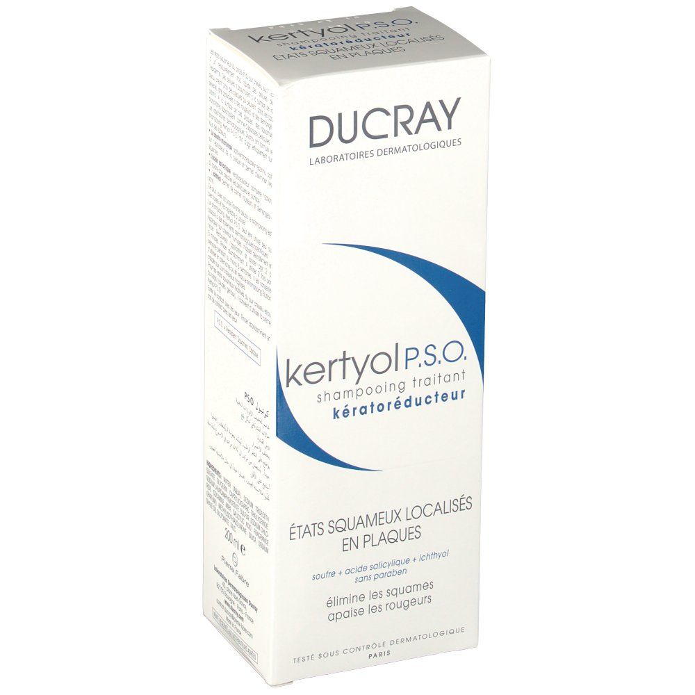 ducray kertyol pso shampoo 200ml kopen bij viata. Black Bedroom Furniture Sets. Home Design Ideas