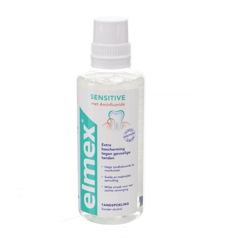 acheter elmex solution dentaire sensitive bain de bouche 400ml maintenant pour chez viata. Black Bedroom Furniture Sets. Home Design Ideas