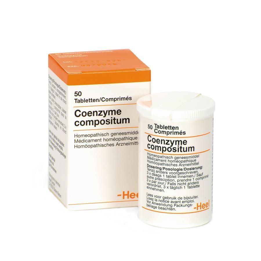 heel coenzyme compositum tabletten 50 st ck kaufen 14. Black Bedroom Furniture Sets. Home Design Ideas