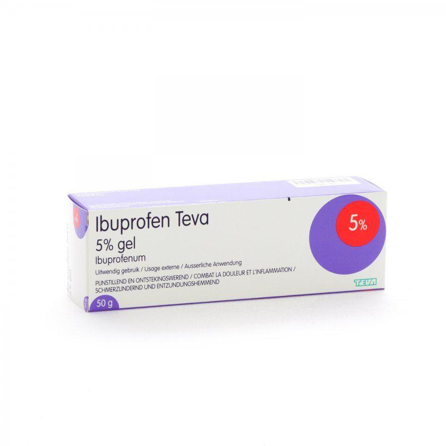 gel met ibuprofen