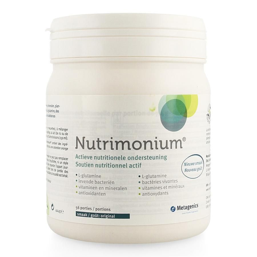 nutrimonium metagenics ervaring