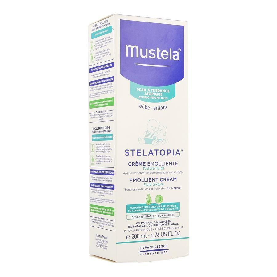 mustela stelatopia cream ingredients