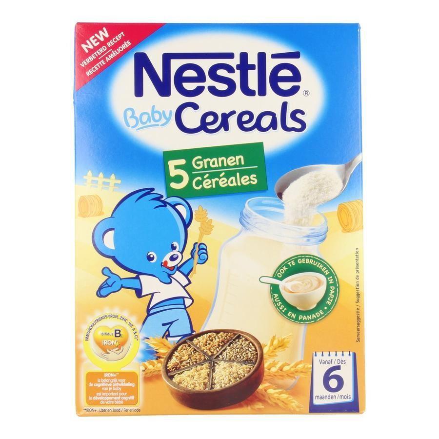 Acheter Nestle Baby Céréales 5 Céréales Poudre 250g