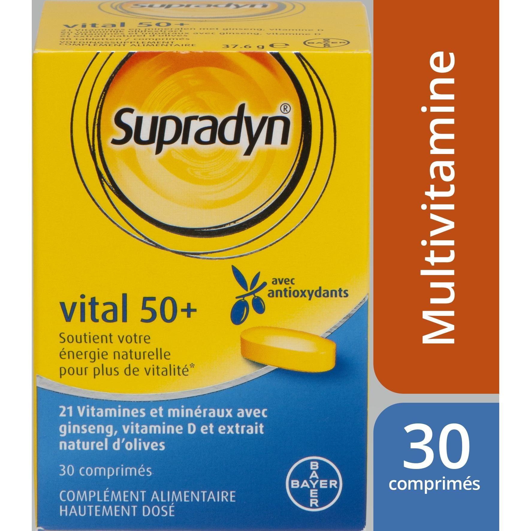 Supradyn Energy cu Coenzima Q10, 30 comprimate, Bayer : Farmacia Tei online