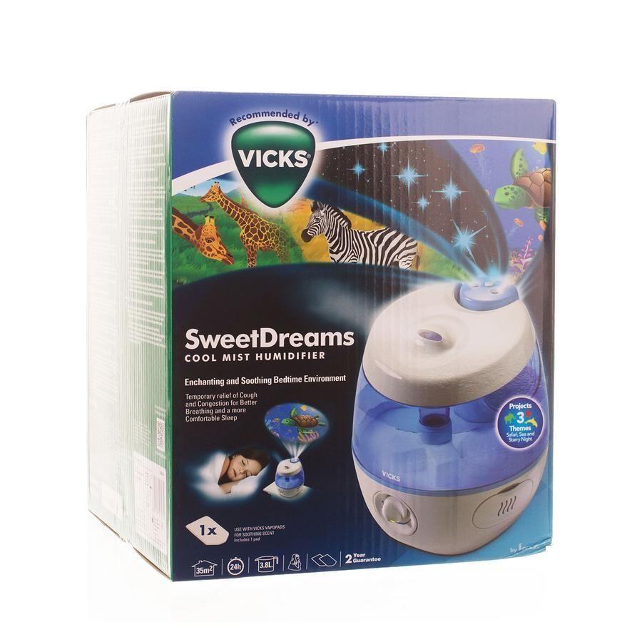 vicks sweet dreams ultraschall luftbefeuchter luftbefeuchter 1 st ck kaufen bei viata. Black Bedroom Furniture Sets. Home Design Ideas