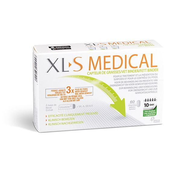 buy XLS Medical Fat Binder Tablets 60pieces ? Now for only